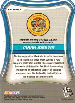 2005 Press Pass Optima - Fan Favorite #FF17 Mark Martin Back