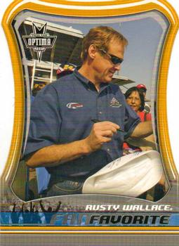 2005 Press Pass Optima - Fan Favorite #FF26 Rusty Wallace Front