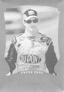 2006 Press Pass Legends - Press Plates Cyan #35 Jeff Gordon Front