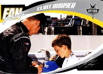 2006 Press Pass Optima - Fan Favorite #FF1 Clint Bowyer Front
