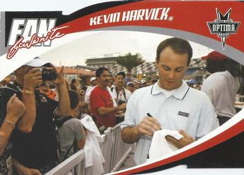 2006 Press Pass Optima - Fan Favorite #FF8 Kevin Harvick Front