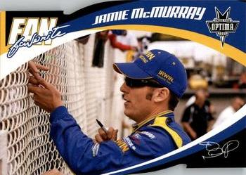2006 Press Pass Optima - Fan Favorite #FF15 Jamie McMurray Front