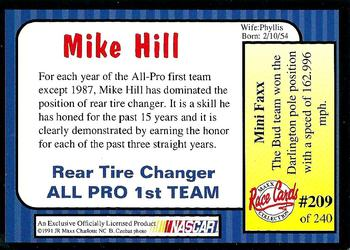 1993 Maxx Premier Plus #136 Mike Hill