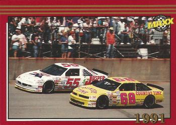 1992 Maxx #197 Bobby Hamilton / Ted Musgrave Cars Front