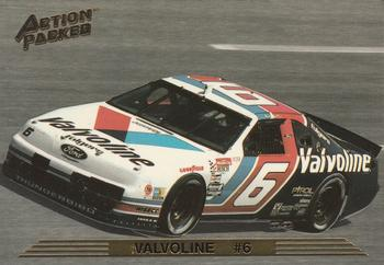 1993 Action Packed #78 Mark Martin's Car Front