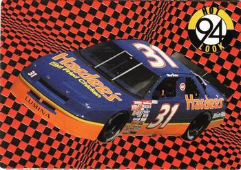 1994 Action Packed #123 Ward Burton's Car Front