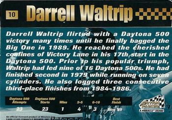 1995 Action Packed Stars #10 Darrell Waltrip Back