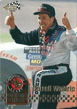 1995 Action Packed Stars #10 Darrell Waltrip Front