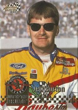 1995 Action Packed Stars #5 Jeff Burton Front