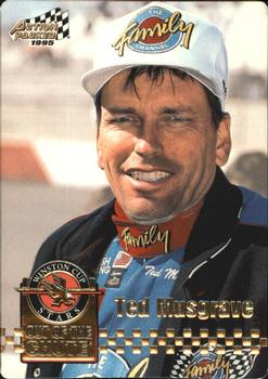 1995 Action Packed Stars #9 Ted Musgrave Front