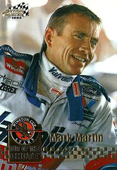1995 Action Packed Stars #3 Mark Martin Front