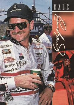 1995 Press Pass #9 Dale Earnhardt Front