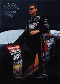 1996 Upper Deck Road to the Cup #RC4 Rusty Wallace Front