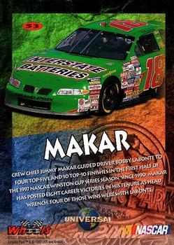Auto Racing Cards 1997 Wheels Jurassic Park Pteranodon #p3 Bobby Labonte Racing Card
