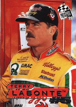 1999 Press Pass #9 Terry Labonte Front