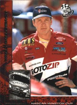 2001 Press Pass #29 Wally Dallenbach Jr. Front