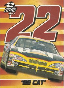 2001 Press Pass Stealth #26 #22 Cat Front