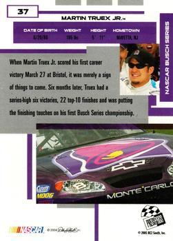 2005 Press Pass Optima #38 Martin Truex Jr Jr Racing Card Auto Racing Cards