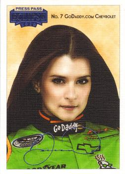 2010 Press Pass Eclipse - Gallery Edition #27 Danica Patrick Front