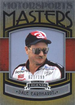 2011 Press Pass Legends - Motorsports Masters Brushed Foil #MM1 Dale Earnhardt Front