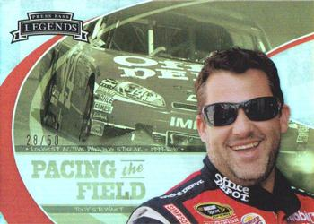 2011 Press Pass Legends - Pacing The Field Holofoil #PF9 Tony Stewart Front