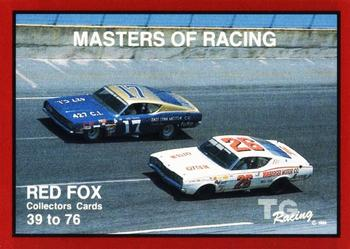 1989-90 TG Racing Masters of Racing #39 Red Fox Front