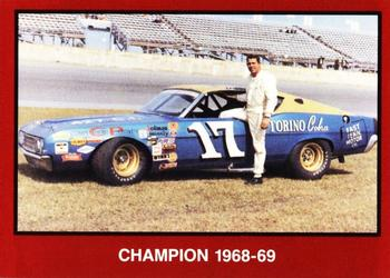 1989-90 TG Racing Masters of Racing #42 David Pearson Front