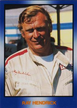 1991-92 TG Racing Masters of Racing Update #258 Ray Hendrick Front