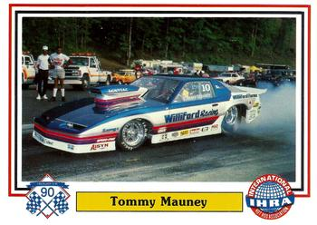 1990 CHECKERED FLAG IHRA DRAG CARDS SINGLE PACK