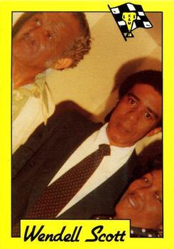 Wendell Scott Gallery - 1991   The Trading Card Database