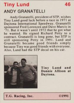 1991 TG Racing Tiny Lund #46 STP's Andy Back