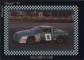 1991 Winner's Choice New England #29 Dick McCabe's Car Front