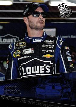 2014 Press Pass #17 Jimmie Johnson Front