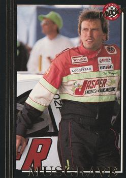 1992 Maxx 5th Anniversary #55 Ted Musgrave Front
