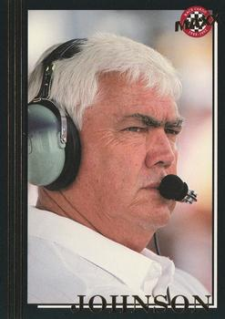 1992 Maxx 5th Anniversary #109 Junior Johnson Front