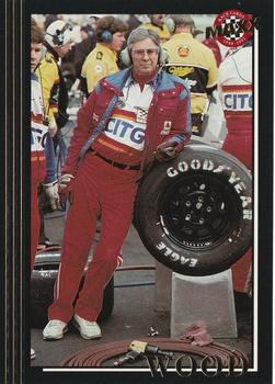 1992 Maxx 5th Anniversary #170 Leonard Wood Front