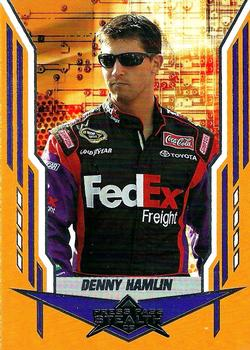 2008 Press Pass Stealth Retail #12 Denny Hamlin Front