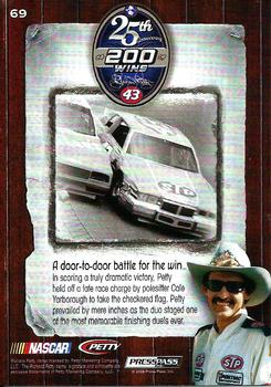 2009 Press Pass Legends #69 Richard Petty Back