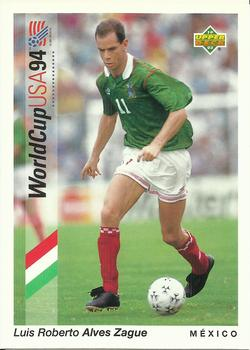 1993 Upper Deck World Cup Preview English/Spanish #41 Luis Roberto Alves Front