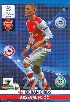 Match Attax 2016//17 Premier League-u5 KIERAN GIBBS-Update