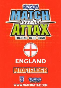 2010 Topps Match Attax South Africa World Cup - Limited Edition #NNO2 David Beckham Back