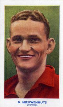 1939 R & J Hill Famous Footballers Series 1 #8 Berry Nieuwenhuys Front