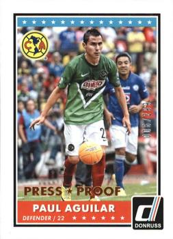 Panini 77 Paul Aguilar Mexico FIFA WM 2014 Brasilien