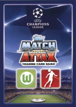 2015-16 Topps Match Attax UEFA Champions League English #113 Ricardo Rodriguez Back