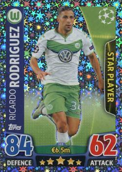 2015-16 Topps Match Attax UEFA Champions League English #113 Ricardo Rodriguez Front