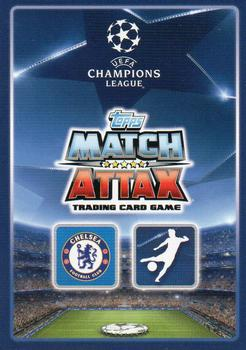 2015-16 Topps Match Attax UEFA Champions League English #143 Diego Costa Back