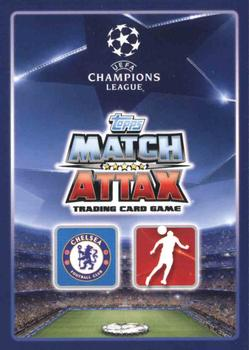 2015-16 Topps Match Attax UEFA Champions League English #144 Cesar Azpilicueta / Branislav Ivanovic Back