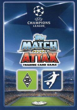 2015-16 Topps UEFA Champions League Match Attax English #233 Raffael Back