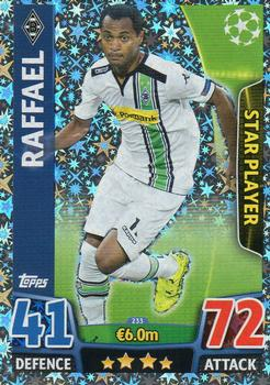2015-16 Topps UEFA Champions League Match Attax English #233 Raffael Front