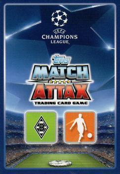 2015-16 Topps UEFA Champions League Match Attax English #234 Andre Hahn / Thorgan Hazard Back